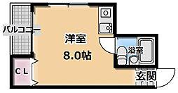 大日ニューハイツ[2階]の間取り