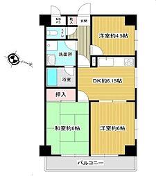 レヂオンス羽村 4階部分