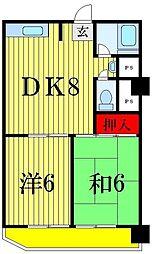 高砂サマリアマンション[2階]の間取り