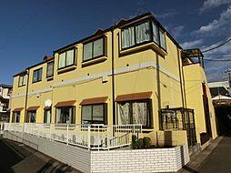 千葉県松戸市日暮3丁目の賃貸アパートの外観