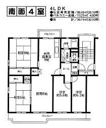 酒々井中央台ハイツ1号棟・4F