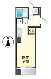 ヴィラ千成[4階]の間取り