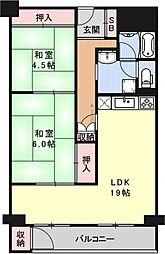 ナカジママンション[303号室号室]の間取り