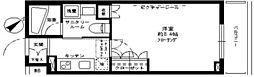 ステージグランデ蒲田アジールコート bt[406kk号室]の間取り