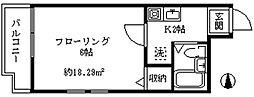 MULAN北新宿[403号室]の間取り