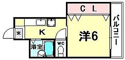 末広ビル[5階]の間取り