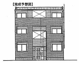(仮称)鷹匠町アパート[2階]の外観