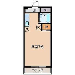 ピュアハイム[1階]の間取り