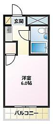 アクシス東加古川[6階]の間取り