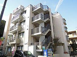 東京都多摩市鶴牧2丁目の賃貸アパートの外観