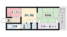 大塚住宅[103号室]の間取り