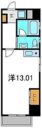 大阪府守口市金下町1丁目の賃貸マンションの間取り