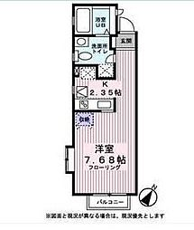 カーサプラタ渋谷[2階]の間取り