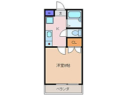 ワイズハイツ[2階]の間取り