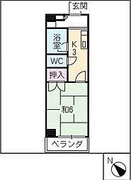 シマ原ビル[3階]の間取り