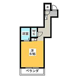 門前ビル[2階]の間取り