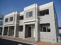 埼玉県深谷市原郷の賃貸アパートの外観