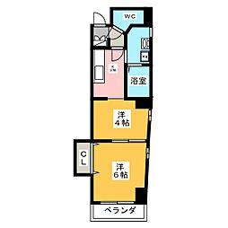 WILL[2階]の間取り