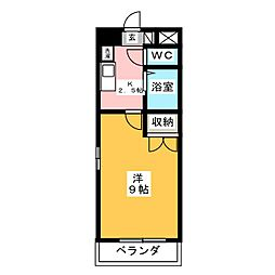 コンホール千種[6階]の間取り