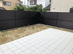 お庭も広々としています