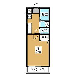 セントポーリア円町[3階]の間取り