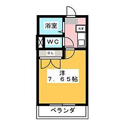 M338[2階]の間取り