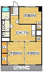 長谷ビル[3階]の間取り