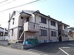 東京都八王子市下恩方町の賃貸アパートの外観