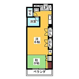 RITZY本山[1階]の間取り