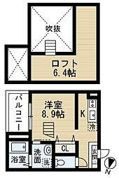 サクセスパートナー[2階]の間取り
