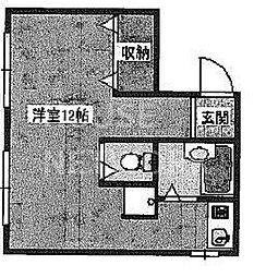 ビューパレス吉田[308号室号室]の間取り