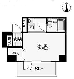 浅草スカイレジテル[12階]の間取り