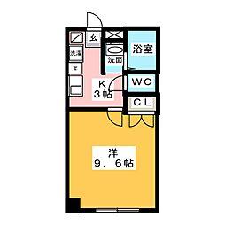 LOTUS 栄[4階]の間取り