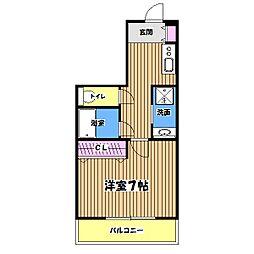 アーク・フレア[4階]の間取り