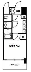 W-STYLE新大阪[11階]の間取り