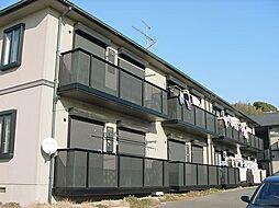 京都府宇治市菟道西中の賃貸アパートの外観