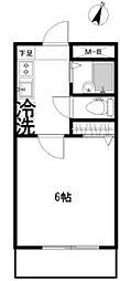 パルティール久米川[3階]の間取り