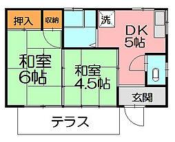 [一戸建] 神奈川県藤沢市善行坂1丁目 の賃貸【/】の間取り