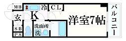 JR東海道・山陽本線 元町駅 徒歩5分の賃貸マンション 4階1Kの間取り