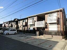 愛知県稲沢市北市場本町4丁目の賃貸アパートの外観
