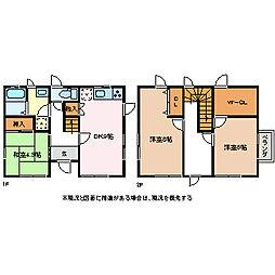 [一戸建] 長野県松本市征矢野2丁目 の賃貸【/】の間取り