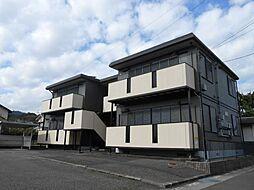 静岡県静岡市駿河区用宗2丁目の賃貸アパートの外観