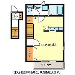 プリマベーラB棟[2階]の間取り