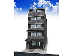 京都府京都市上京区大上之町の賃貸マンションの外観