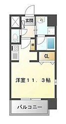 TOURNEY名駅[2階]の間取り