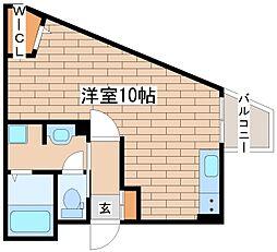 兵庫県三木市緑が丘町本町1丁目の賃貸マンションの間取り