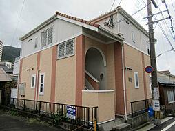 福岡県北九州市八幡東区春の町3丁目の賃貸アパートの外観