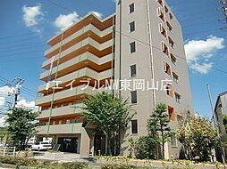 岡山県岡山市東区中尾丁目なしの賃貸マンションの外観