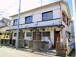 兵庫県宝塚市南ひばりガ丘1丁目の賃貸アパートの外観