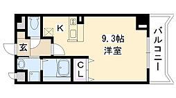 プレジェーネ北江口[2階]の間取り